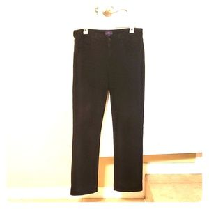 Black NYDJ mini boot cut size wore a couple times